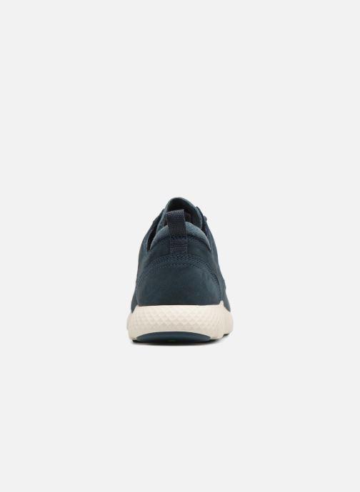 Sneakers Timberland FlyRoam Leather Oxford Azzurro immagine destra