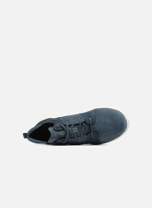 Sneakers Timberland FlyRoam Leather Oxford Azzurro immagine sinistra