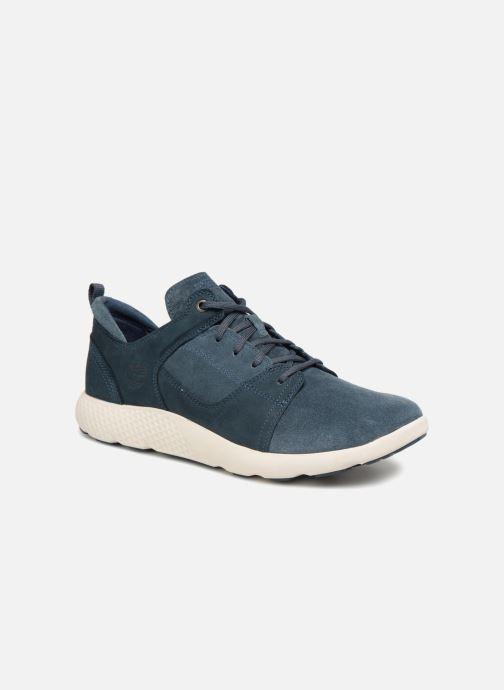 Sneakers Timberland FlyRoam Leather Oxford Azzurro vedi dettaglio/paio