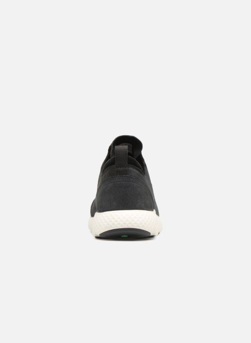 Baskets Timberland FlyRoam Leather Oxford Noir vue droite