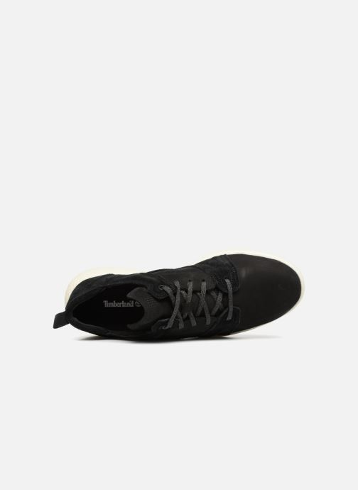 Sneakers Timberland FlyRoam Leather Oxford Nero immagine sinistra