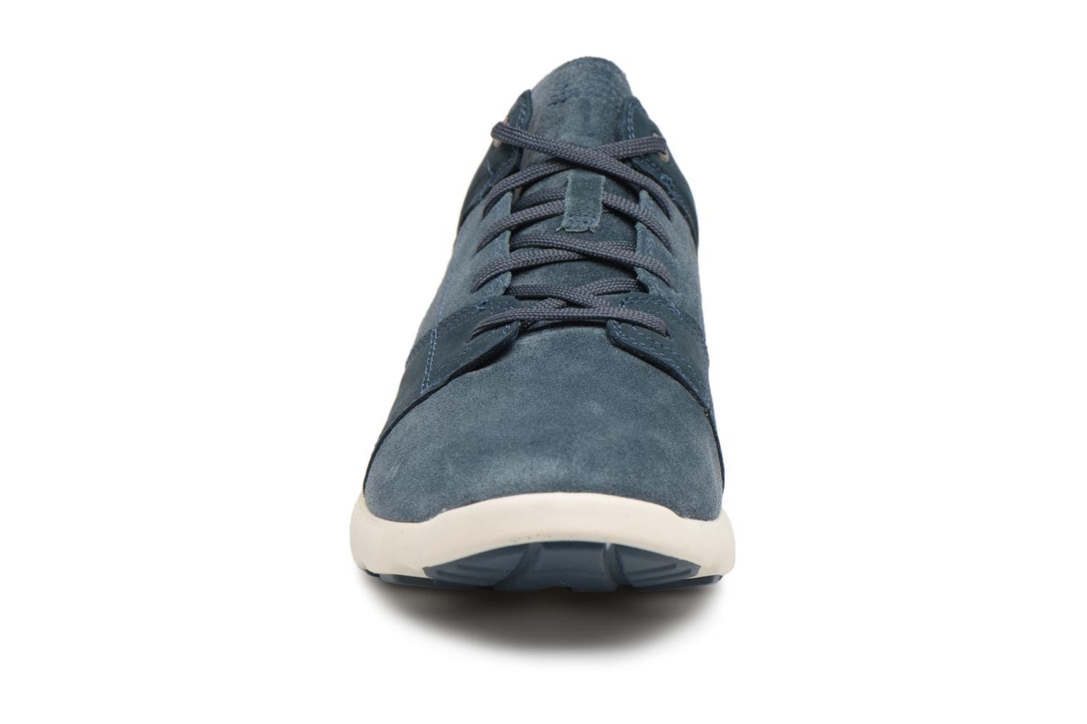 Sneaker Timberland FlyRoam Leather Oxford blau schuhe getragen