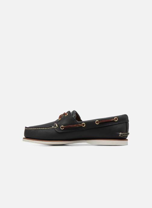Chaussures à lacets Timberland MEN'S 2 EYE BOAT SHOE Bleu vue face