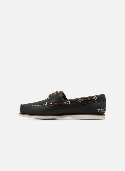 Zapatos con cordones Timberland MEN'S 2 EYE BOAT SHOE Azul vista de frente