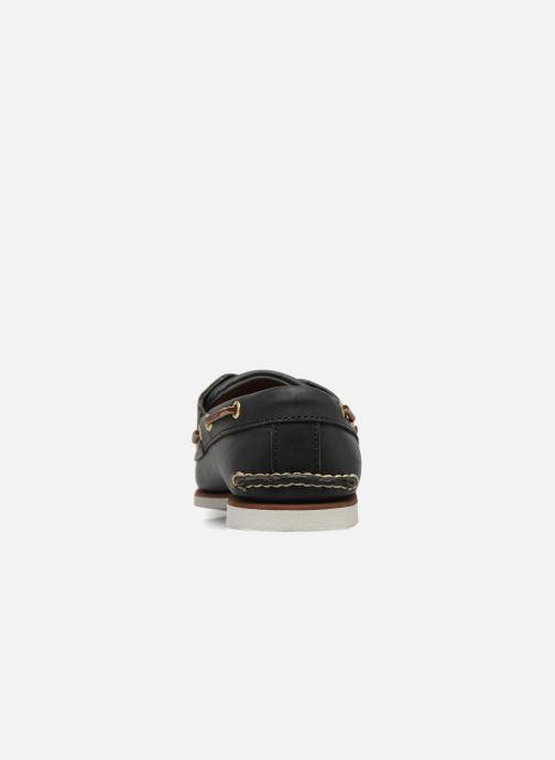 Chaussures à lacets Timberland MEN'S 2 EYE BOAT SHOE Bleu vue droite