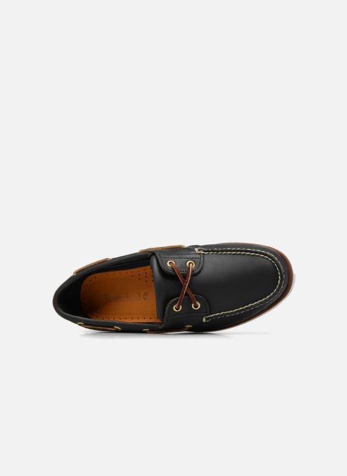 Chaussures à lacets Timberland MEN'S 2 EYE BOAT SHOE Bleu vue gauche