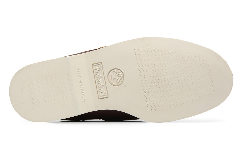Chaussures à lacets Timberland MEN'S 2 EYE BOAT SHOE Marron vue haut
