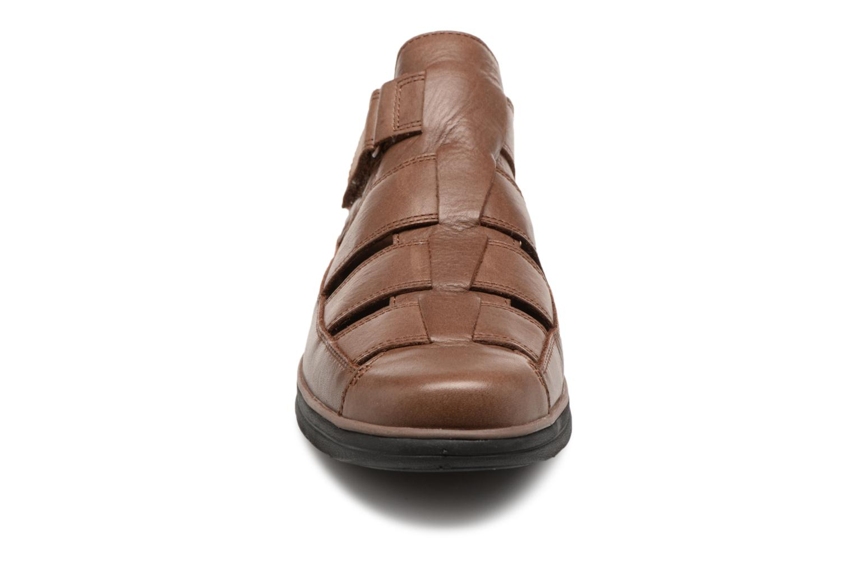 Sandales et nu-pieds Timberland Bradstreet Fisherman Marron vue portées chaussures