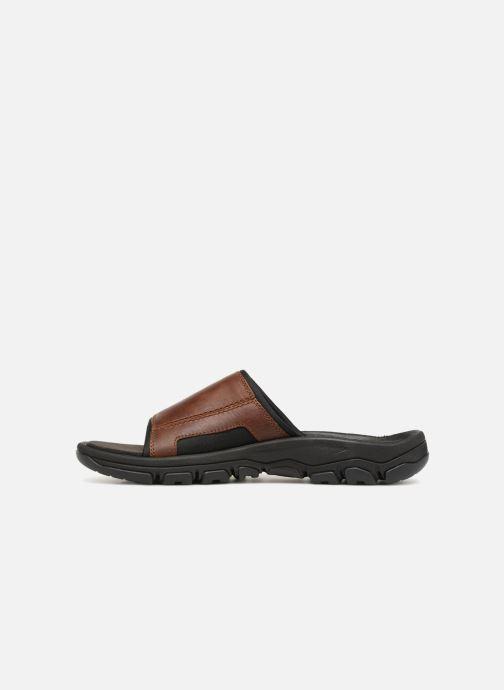 Sandales et nu-pieds Timberland Roslindale Slide Marron vue face