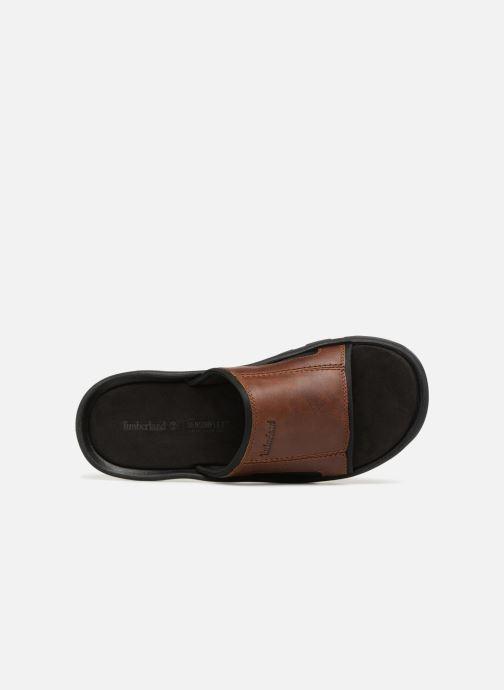 Sandales et nu-pieds Timberland Roslindale Slide Marron vue gauche