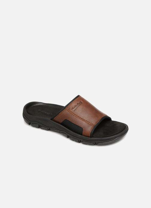 Sandales et nu-pieds Timberland Roslindale Slide Marron vue détail/paire