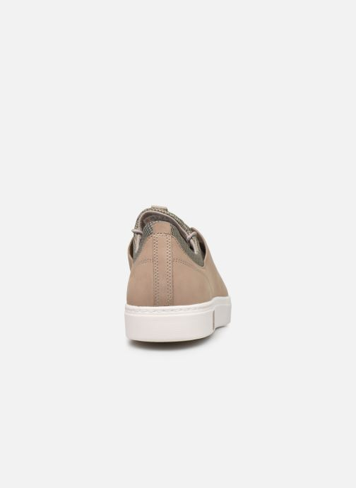 Baskets Timberland Amherst Lthr LTT Sneaker Beige vue droite