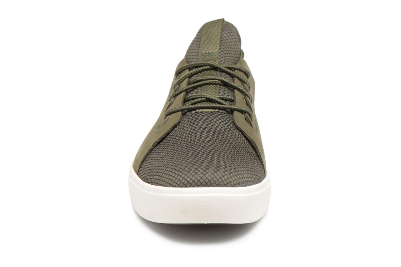 Baskets Timberland Amherst Lthr LTT Sneaker Vert vue portées chaussures