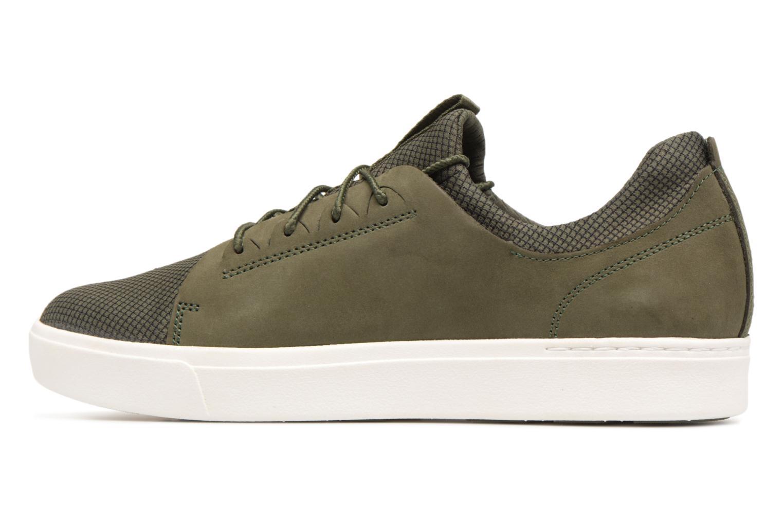 Baskets Timberland Amherst Lthr LTT Sneaker Vert vue face