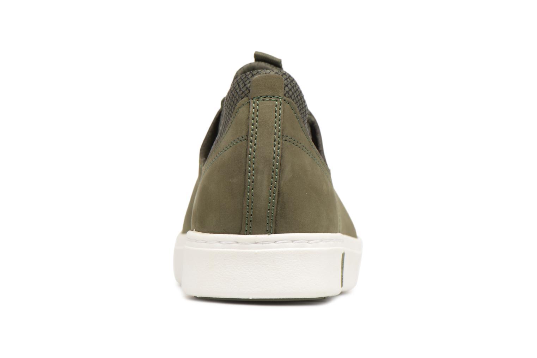Baskets Timberland Amherst Lthr LTT Sneaker Vert vue droite