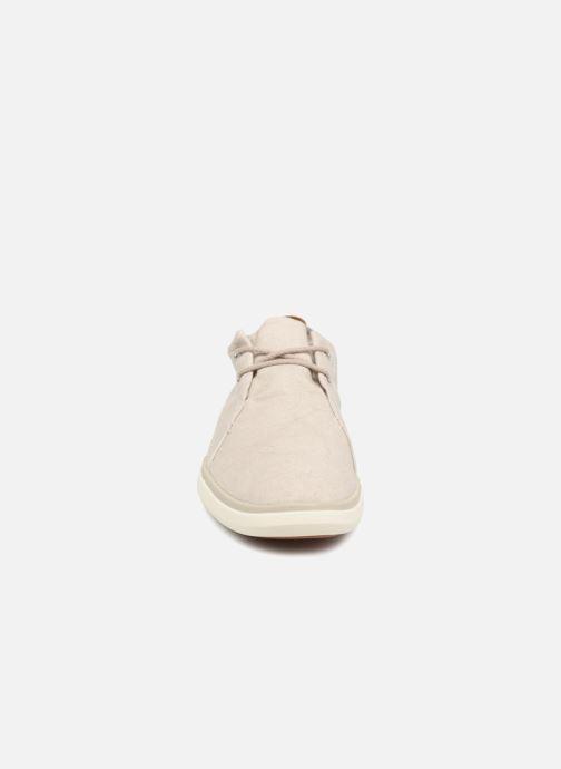 Sneakers Timberland Gateway Pier Casual Oxfor Grigio modello indossato