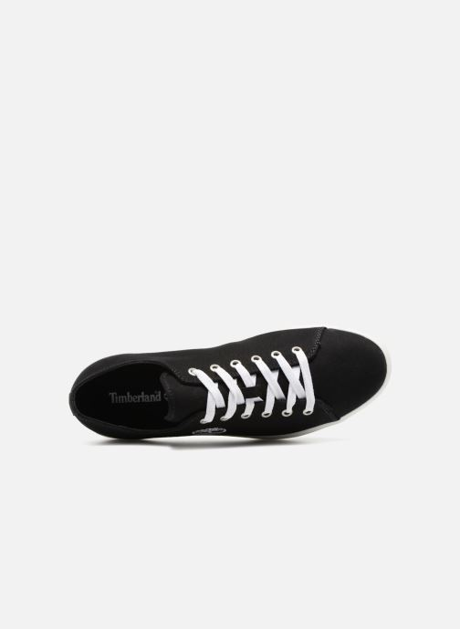 Trainers Timberland Union Wharf Lace Oxford Black view from the left