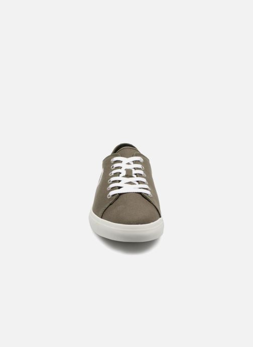 Baskets Timberland Union Wharf Lace Oxford Vert vue portées chaussures