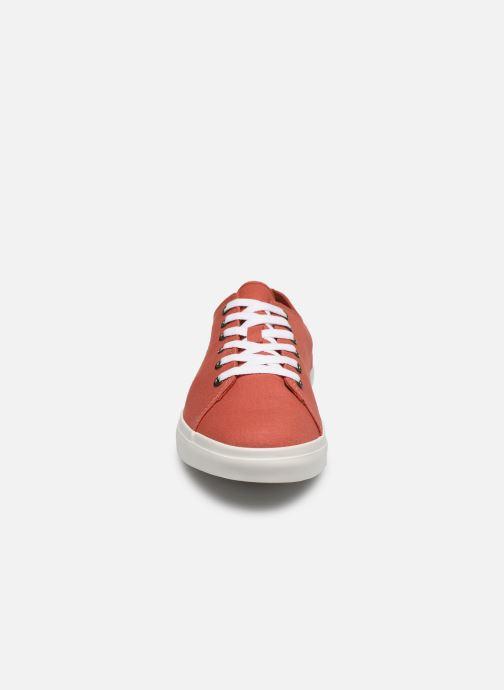 Baskets Timberland Union Wharf Lace Oxford Orange vue portées chaussures