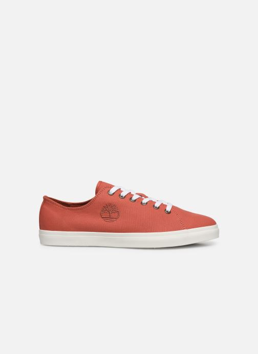 Trainers Timberland Union Wharf Lace Oxford Orange back view