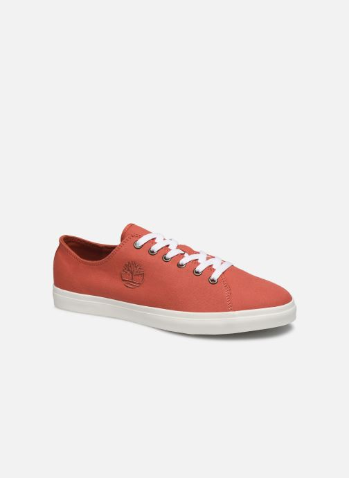 Trainers Timberland Union Wharf Lace Oxford Orange detailed view/ Pair view