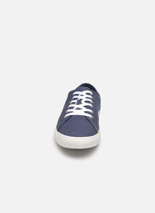 Baskets Timberland Union Wharf Lace Oxford Bleu vue portées chaussures
