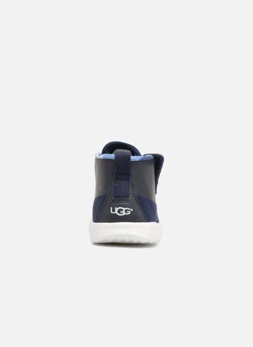 Sneaker UGG Seaway Chukka blau ansicht von rechts