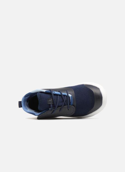 Sneaker UGG Seaway Chukka blau ansicht von links