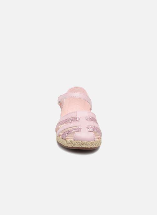 Sandales et nu-pieds UGG Matilde Sparkles Rose vue portées chaussures