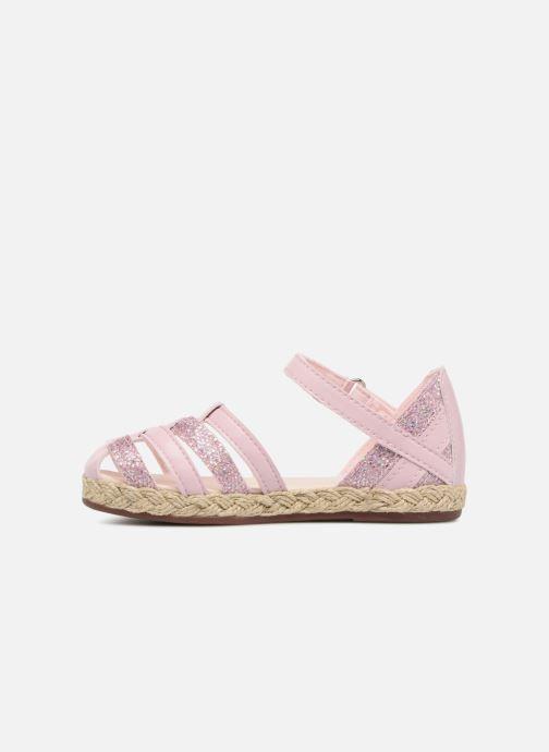 Sandalen UGG Matilde Sparkles rosa ansicht von vorne