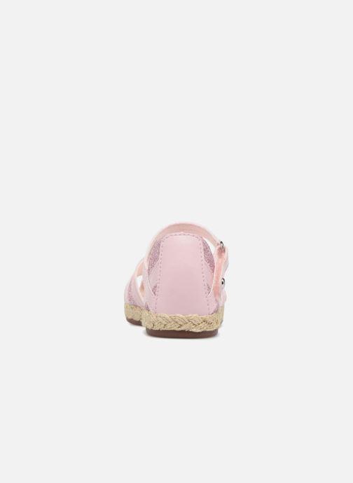 Sandalen UGG Matilde Sparkles rosa ansicht von rechts