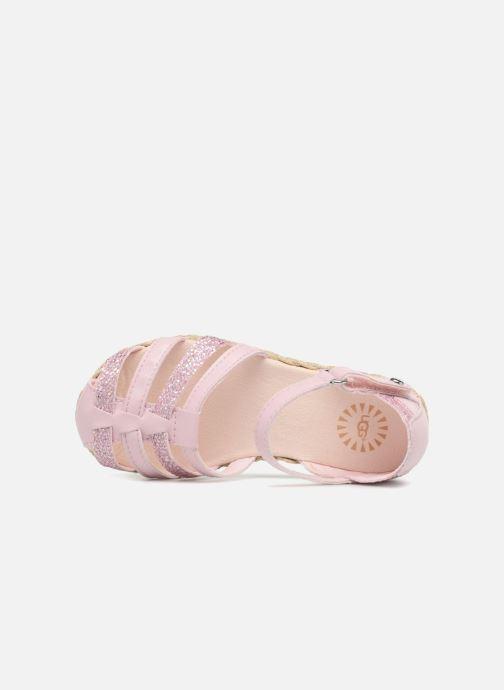 Sandales et nu-pieds UGG Matilde Sparkles Rose vue gauche