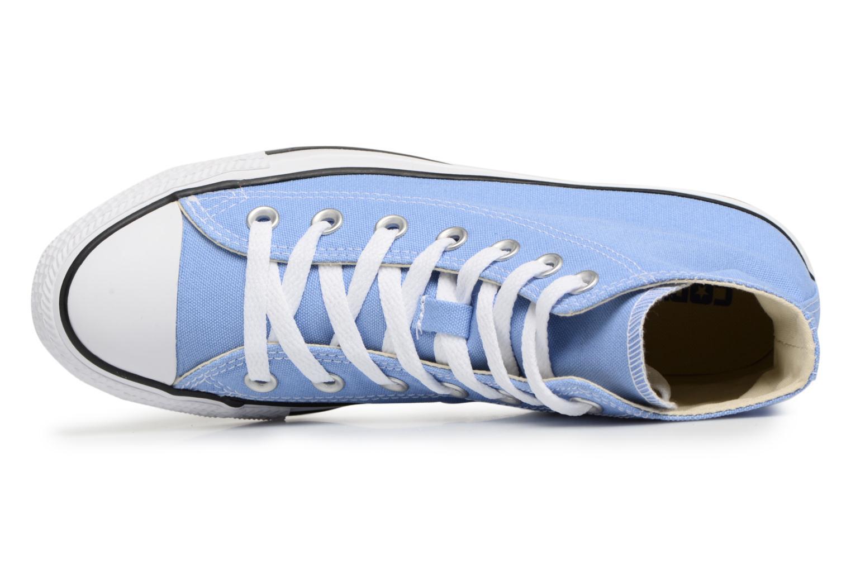 Sneaker Converse Chuck Taylor All star Classic 157615C W blau ansicht von links