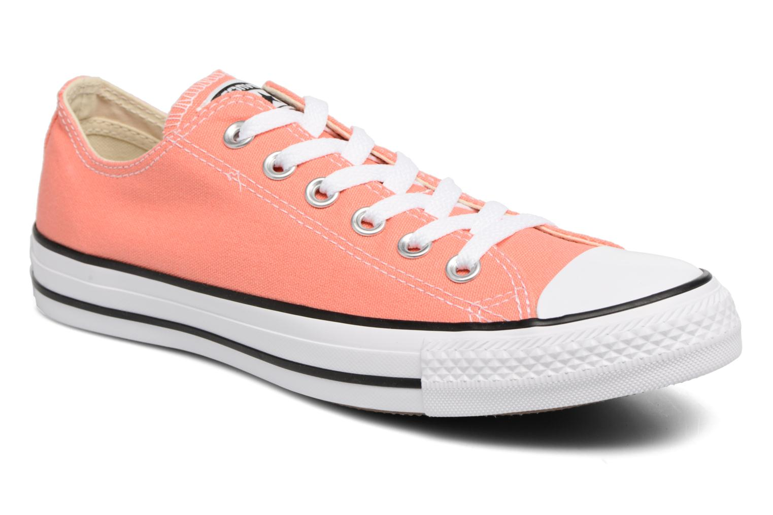 Baskets Converse Chuck Taylor All star Classic Rouge vue détail/paire