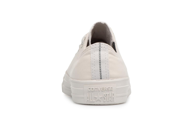 Sneaker Converse Chuck Taylor All Star Ox 555979C grau ansicht von rechts