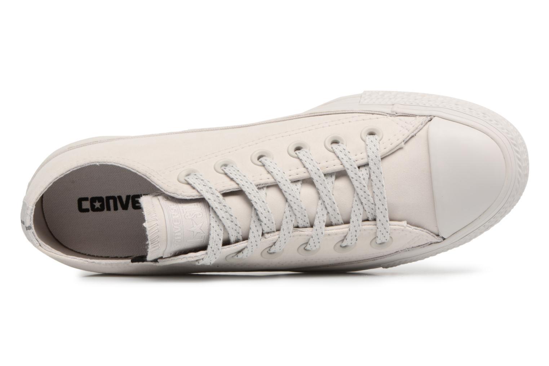 Sneaker Converse Chuck Taylor All Star Ox 555979C grau ansicht von links