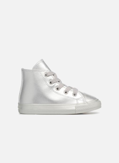 Trainers Converse CTAS HI Silver back view