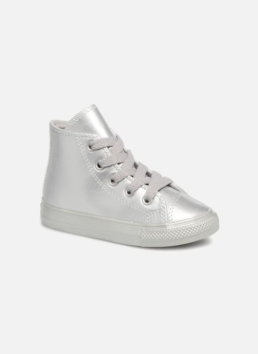 Trainers Converse CTAS HI Silver detailed view/ Pair view