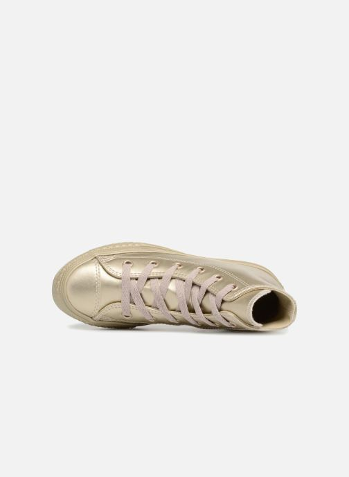 Trainers Converse Chuck Taylor All Star Metallic Bronze and Gold view from the left