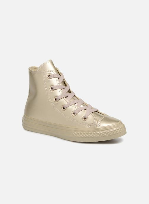 Trainers Converse Chuck Taylor All Star Metallic Bronze and Gold detailed view/ Pair view