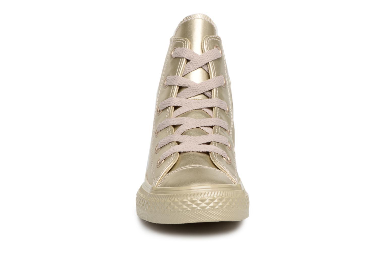 Sneaker Converse Chuck Taylor All Star Metallic gold/bronze schuhe getragen