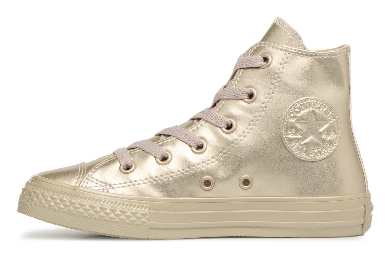 Sneakers Converse Chuck Taylor All Star Metallic Goud en brons voorkant