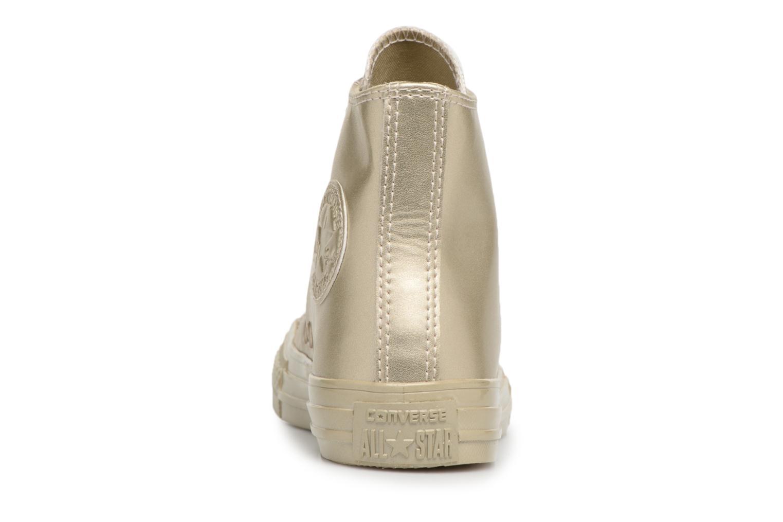 Sneakers Converse Chuck Taylor All Star Metallic Goud en brons rechts