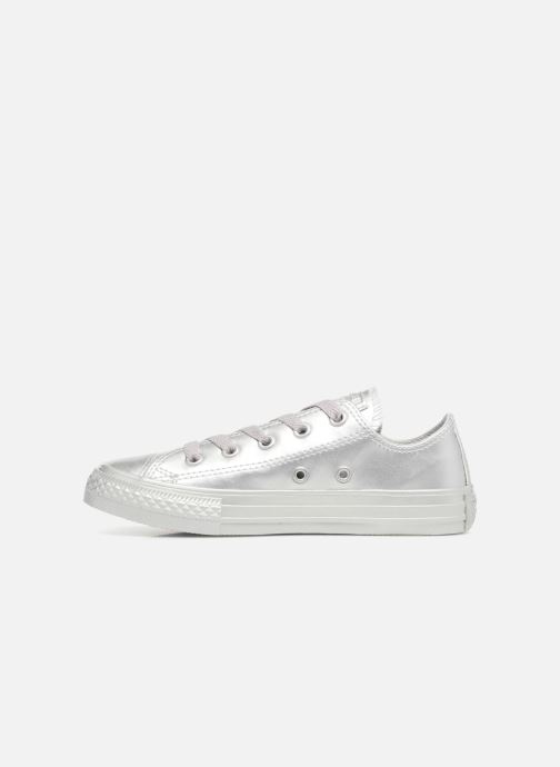 Trainers Converse Chuck Taylor All Star Metallic 357663C Silver front view