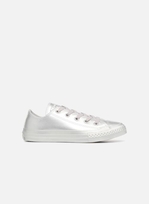 Trainers Converse Chuck Taylor All Star Metallic 357663C Silver back view