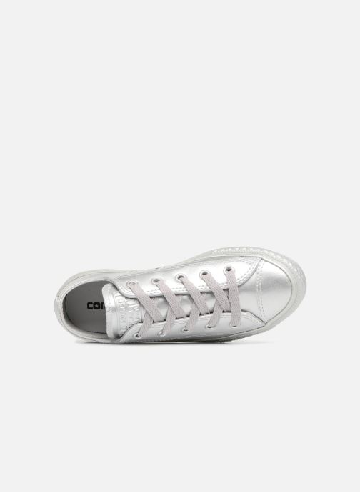 Trainers Converse Chuck Taylor All Star Metallic 357663C Silver view from the left