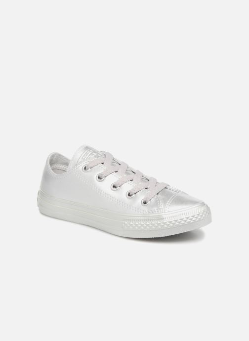 a62b5fc2527 Trainers Converse Chuck Taylor All Star Metallic 357663C Silver detailed  view  Pair view