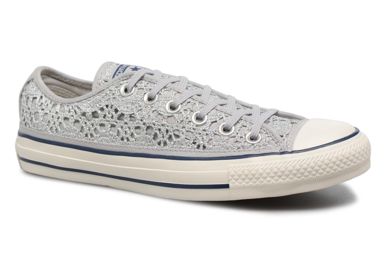 Converse CTAS OX PURE (Argent) - Baskets en Más cómodo Dernières chaussures discount pour hommes et femmes