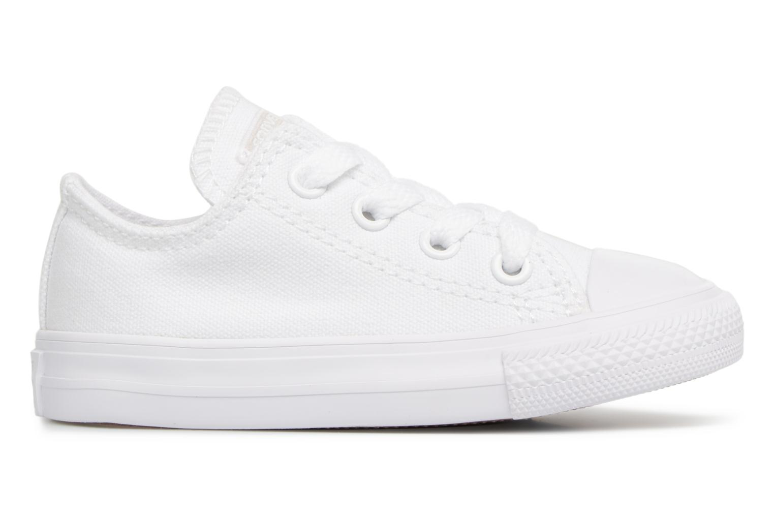Baskets Converse CT AS OX WHITE MONOCHROME Blanc vue derrière