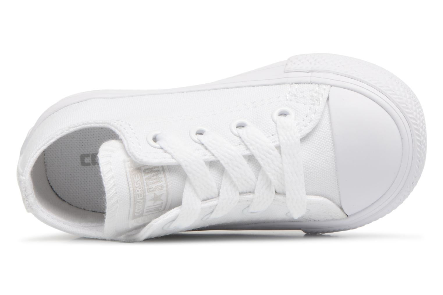 Baskets Converse CT AS OX WHITE MONOCHROME Blanc vue gauche